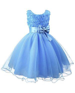 Girls Formal Blue Dress Birthday weddings size 3-4 T for Sale in Miramar, FL