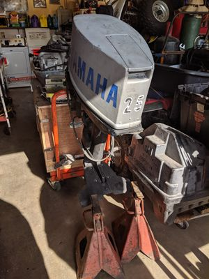 Yamaha 20 HP outboard motor for Sale in Riverside, CA