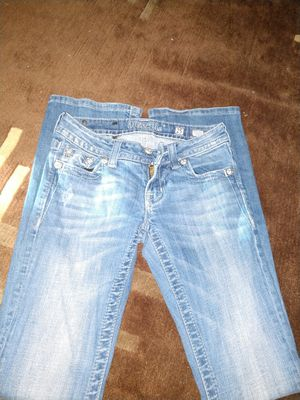leather star Miss me jeans for Sale in Cheney, KS