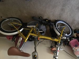 "Hemis vogager folding bike 16"" good condition area San Diego pick only for Sale in San Diego, CA"