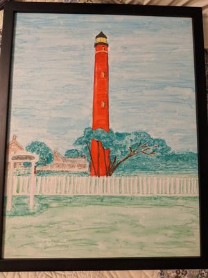 Lighthouse painting for Sale in Seffner, FL