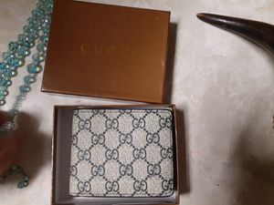 Men's authentic Gucci wallet new in box for Sale in Fort Worth, TX