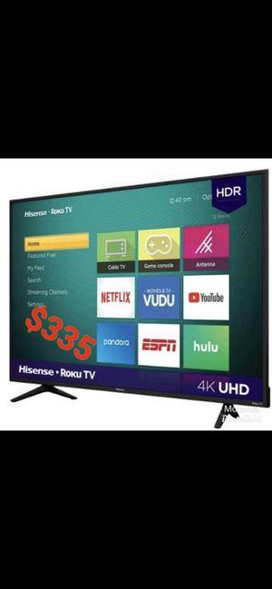 HISENSE 60 INCH ROKU SMART TV 4K NEW for Sale in Anaheim, CA