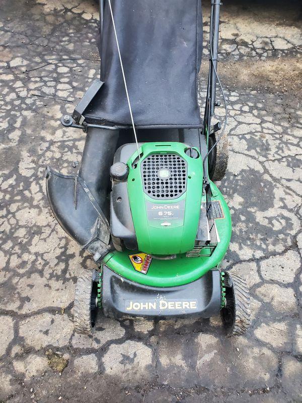 Js30 john Deere self propelled mower