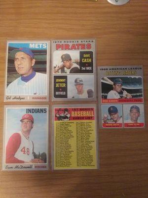 Vintage 1970 Topps Baseball cards Lot Rookies, Hofs, Stars for Sale in Monroe Township, NJ