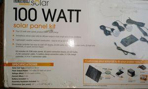 THUNDERBOLT MAGNUM SOLAR 100 Watt Solar Panel Kit for Sale in Temple, GA