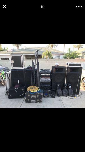 Dj Equipment / Speakers / Dj Lights for Sale in Los Angeles, CA