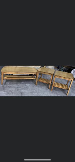 Coffee End Table Set for Sale in Peoria, AZ