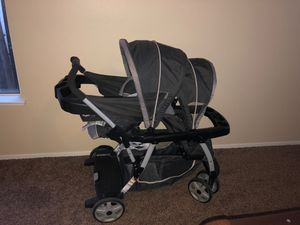 Graco Ready2Grow Click Connect Double Stroller for Sale in Bakersfield, CA