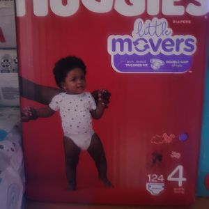 Huggies Size 4 for Sale in Riverside, CA