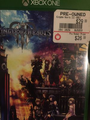 Kingdom hearts 3 for Sale in Lancaster, CA