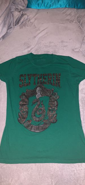 Harry Potter Slytherin shirt for Sale in Avis, PA