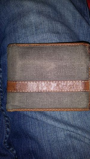 Timberland canvas and leather wallet for Sale in Chandler, AZ
