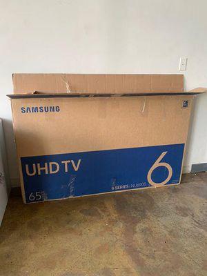 "65"" Samsung smart 4k HDTV for Sale in Canton, GA"