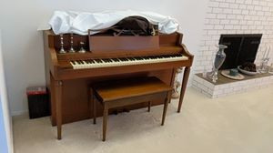 Howard by Baldwin, mid century spinet piano for Sale in Maple Valley, WA