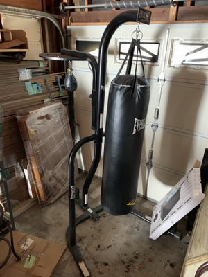 Everlast Heavy Bag, Speed Bag & Stand! Also with equipment for Sale in Los Angeles, CA