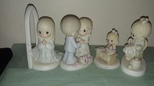 Precious Moments Enesco figurine lot of 4 for Sale in Tampa, FL