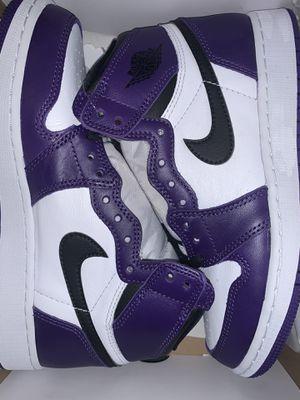 Jordan 1 court purple for Sale in New York, NY