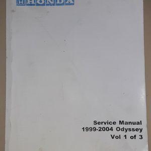 HONDA ODYSSEY Service Manual 1999-2004 for Sale in Brandon, FL