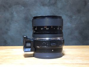 Carl Zeiss Contax 50mm 1.4 manual lens for Canon for Sale in Alafaya, FL