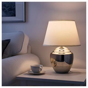 IKEA Modern Table Lamp Chrome/White (New) for Sale in West Covina, CA