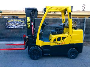 2012 Hyster Forklift 8000 pound capacity with hard pneumatic tires for Sale in Fullerton, CA