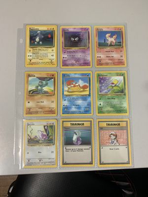 Pokémon 1995-1998 cards for Sale in Henderson, NV