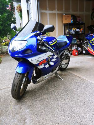 Suzuki 2002 gsxr 600 for Sale in Puyallup, WA