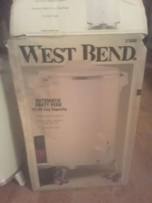 West bend automatic coffee maker 12-30 cups brand new never used in box $50 obo for Sale in Hilliard, OH
