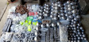 Downrigger balls, Cannonball fishing weights, Flutter/Pipe jigs, Crab pot weights and more. for Sale in Joint Base Lewis-McChord, WA