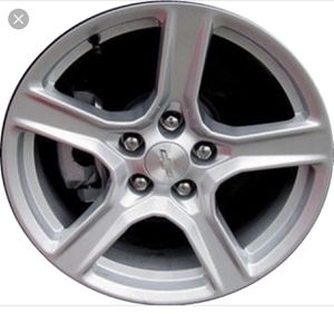 2017 camaro aluminum factory wheels with tires SET for Sale in Dothan, AL
