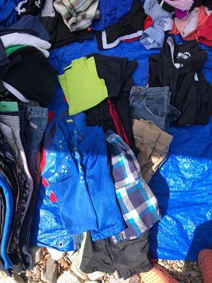 Size 8 boys clothes pile for Sale in Albuquerque, NM