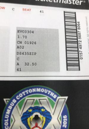 Ticket for Disney land in Columbus for Sale in Macon, GA