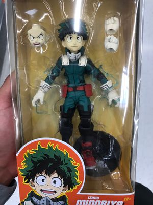 Mcfarlane Toys My Hero Academia Izuku Midoriya Collectible Action Figure for Sale in Cerritos, CA