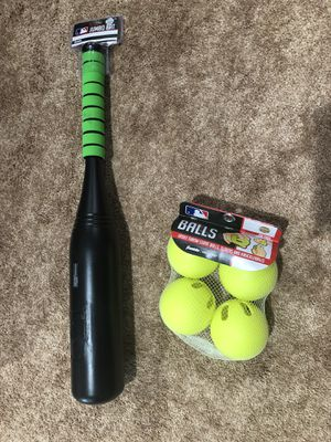 Baseball Bat & Wiffle Balls - brand new for Sale in Fairfax, VA
