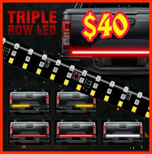 🚨🚦NEW 3X BRIGHTER TRUCK TAILGATE LED STRIP 3RD BRAKE LIGHT! 5 SIGNAL FUNCTIONS🚦🚨 for Sale in Ontario, CA