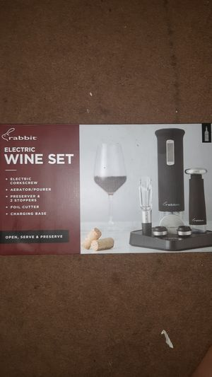 Electric wine set for Sale in Washington, DC
