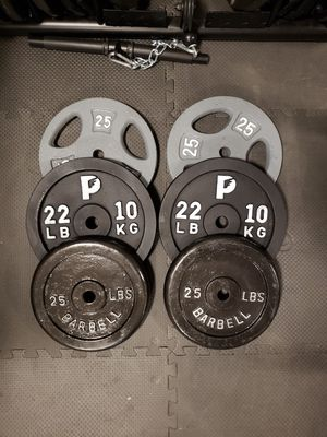 144lbs of standar weights for Sale in Renton, WA