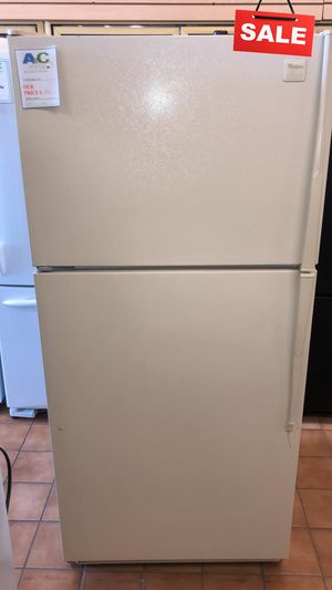 BIG BARGAINS!! CONTACT TODAY! Whirlpool Refrigerator Fridge Top Freezer #1481 for Sale in Baltimore, MD