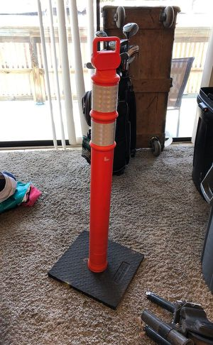 Tall Orange Safety Cone for Sale in Fort Lauderdale, FL