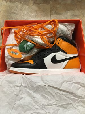 Jordan 1 Shattered Back Board Custom (originally Gatorade/ Orange peel) for Sale in Hoffman Estates, IL