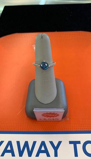 Blue Diamond Ring for Sale in McAllen, TX