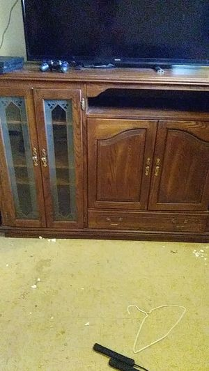 Brown Wooden TV Stand for Sale in Columbus, OH