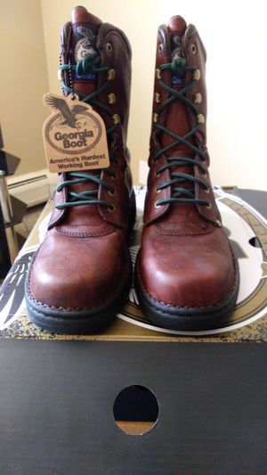 "Men's Georgia 8"" Eagle Light Boots Size 8.5 and 9.5 for Sale in Aurora, CO"
