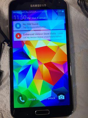SAMSUNG S5 UNLOCKED EXCELLENT CONDITION for Sale in Fairfax, VA