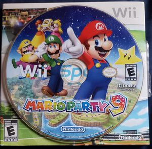 Nintendo Wii Mario Party 9 for Sale in Long Beach, CA