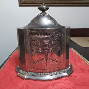 """Godinger silver Artist ( GSA ) silverplated Humidor 8.5x 6x7.75"""" (1991) for Sale in San Diego, CA"""