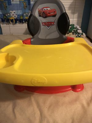Cars Disney eating chair for Sale in Phoenix, AZ