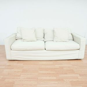 Room and Board Slip Covered Sofa (1041558) for Sale in San Bruno, CA