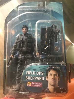 Stargate Atlantis Lt Colonel John Sheppard Action Figure NIB for Sale in Traverse City, MI